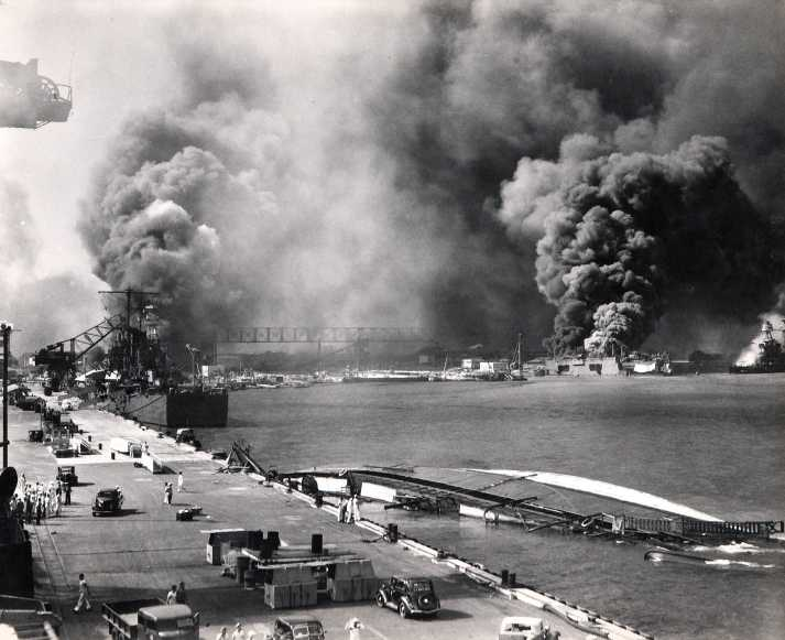 Pearl Harbor Attack Aftermath